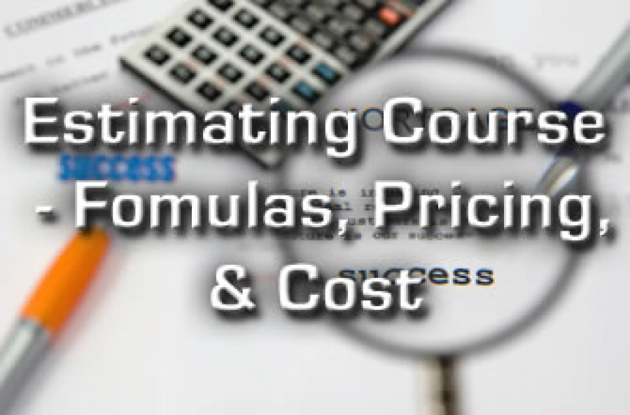 Estimating Course Inc Pricing Techniques Amp Costs