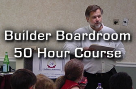 Builder Boardroom 50 Hour Advanced Online Course