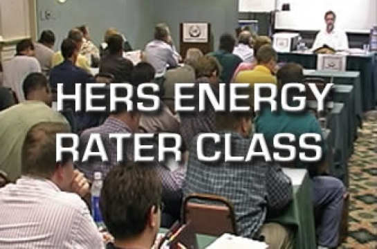 HERS Energy Rater Course