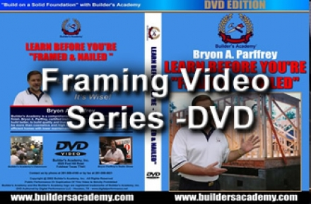 Framing Video Series -DVD